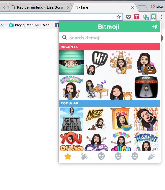 skjermbilde-av-bitmoji-i-chrome