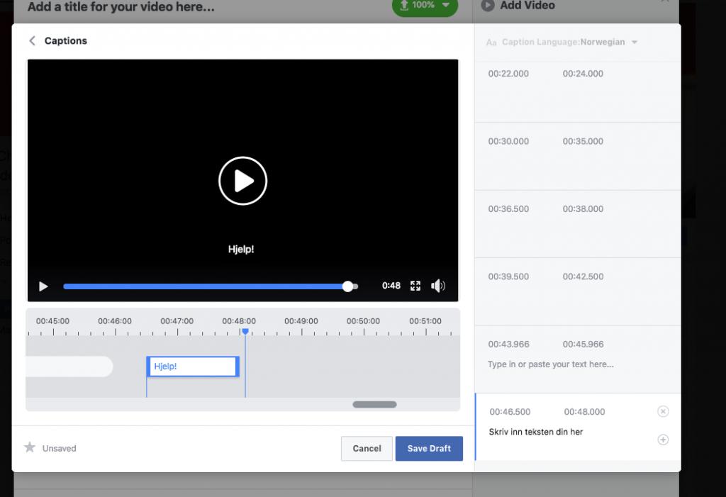 legge-til-tekst-på-facebookvideo-2