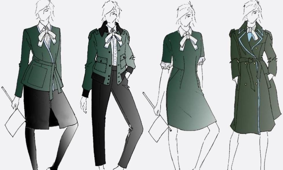 kvinnenes-uniform